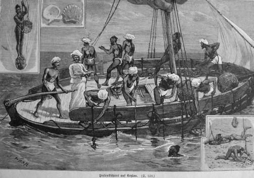 Perlenfischerei