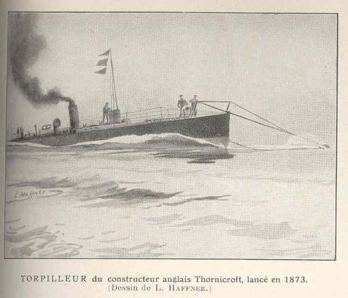 FMIB_37138_Torpilleur_du_constructeur_anglais_Thornicroft,_lance_en_1873