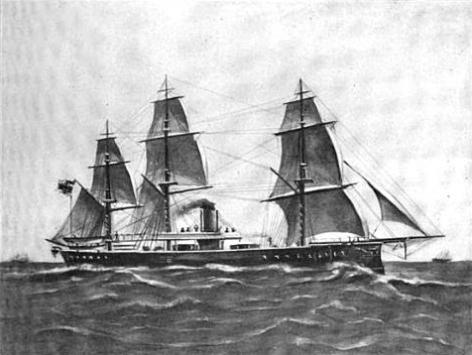SMS_Grosser_Kurfurst_under_sail