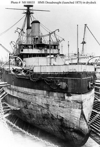407px-HMS_Dreadnought_(1875)_in_drydock_USNHC_NH_88835