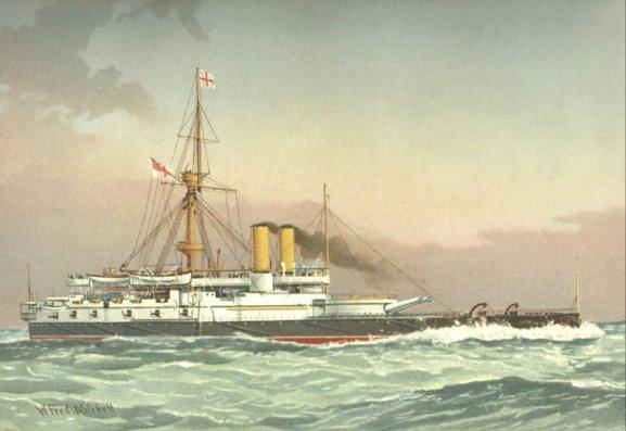 HMS_Victoria_(1887)_William_Frederick_Mitchell