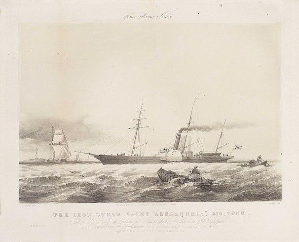 royal yacht alexandria