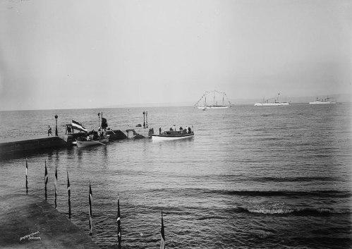 800px-Wilhelm_II_debarking_Haifa_1898