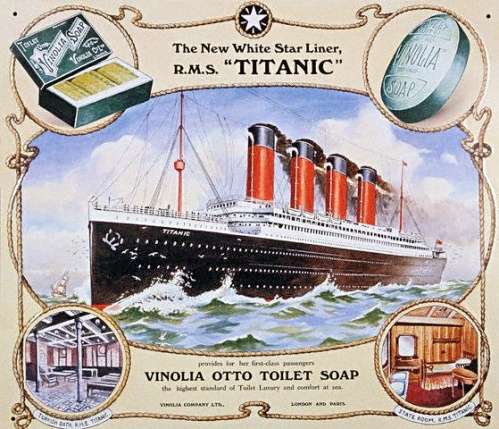 Poster Advertising Vinolia Otto Soap for the